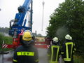 THW und Feuerwehr gemeinsam im Einsatz