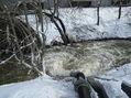 Die Mühlenau musste zu Spitzenzeiten 90.000 Liter Wasser in der Minute aufnehmen.