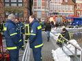 Der Landesbeauftragte Dierk Hansen macht sich vor Ort ein Bild von der Lage.