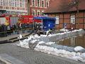 Die Börger-Pumpe im Einsatz (5000 L/min)