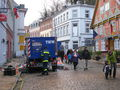 Auch die Stromversorgung der Altstadt wird durch das THW sichergestellt.