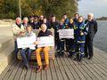 THW-Jugend erhält Spende vom Kiwanis Club - Entenrennen 2014