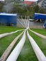 Druckleitungen der Elektro-Tauchpumpen